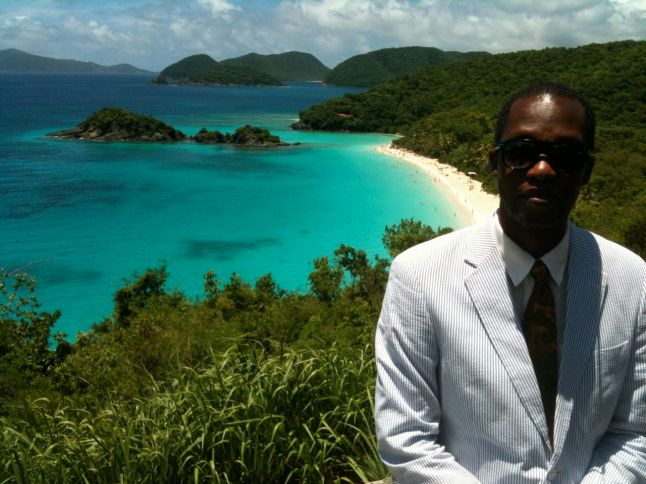 Wayne James at Trunk Bay.jpg